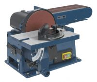Belt, bobbin and disc sanders for pedestal or bench applications